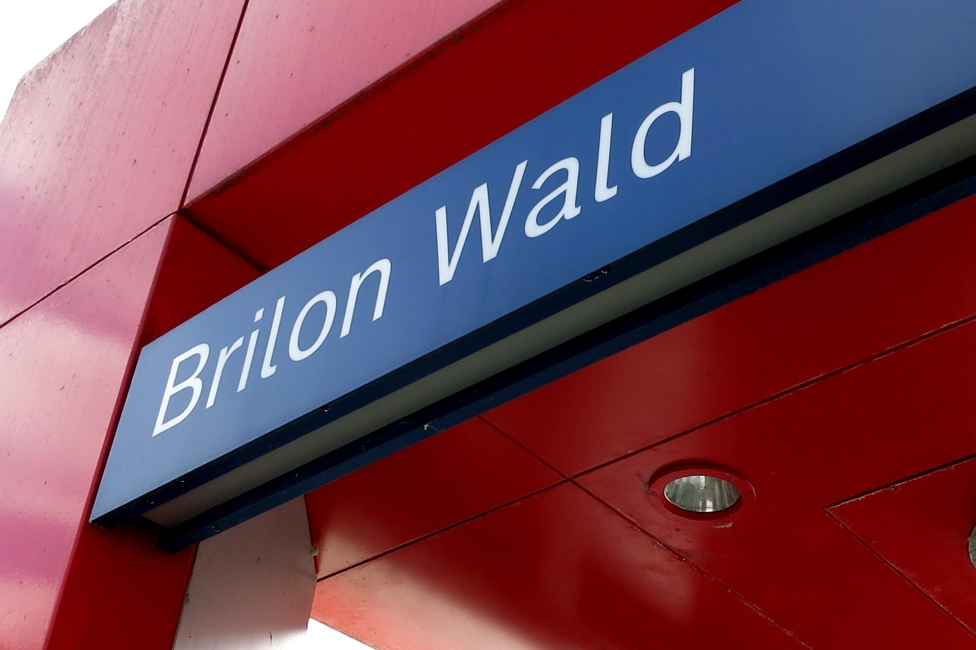 Bahnhofsschild BrilonWald