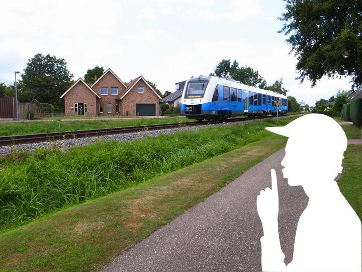 Bentheimer Eisenbahn - bitte leise