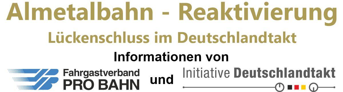 Almetalbahn-Reaktivierung Lückenschluss im Deutschland-Takt Deutschland-Takt