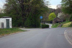 Ahden Bahnübergang Bahnhof