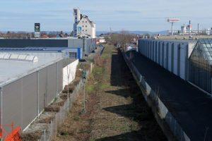 Paderborn Blick von der Brücke B64