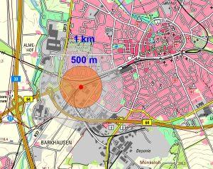 Lageplan Wollmarktstraße